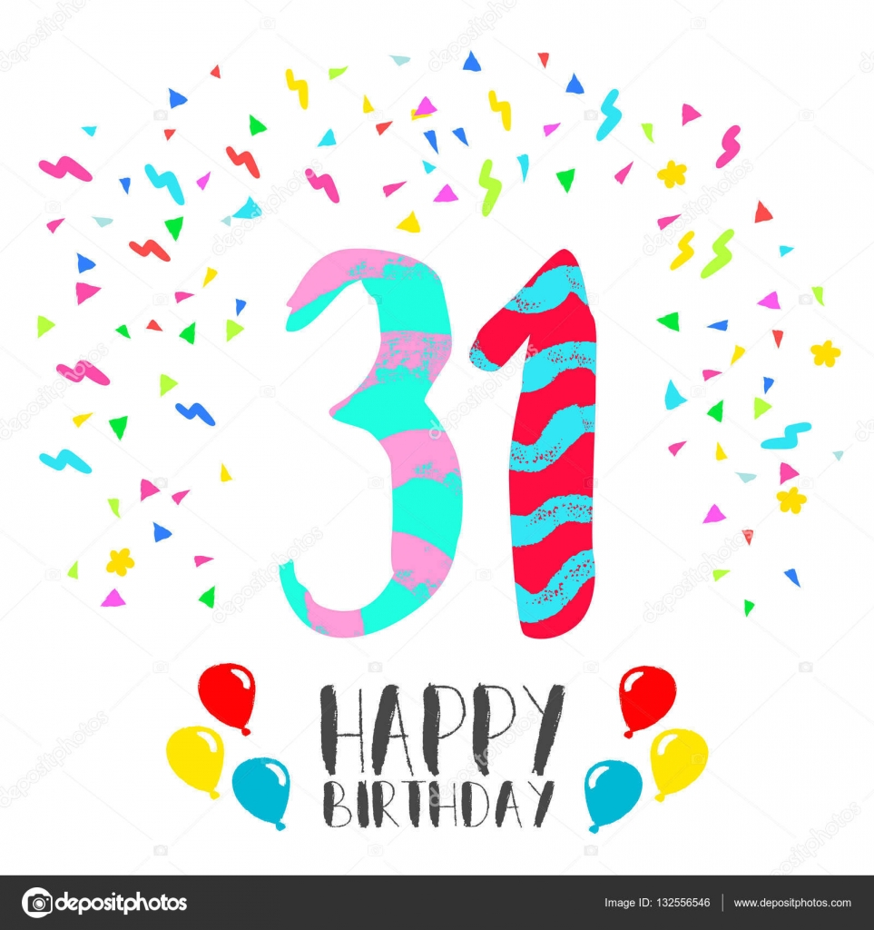 Поздравление с 31 днём рождения 61