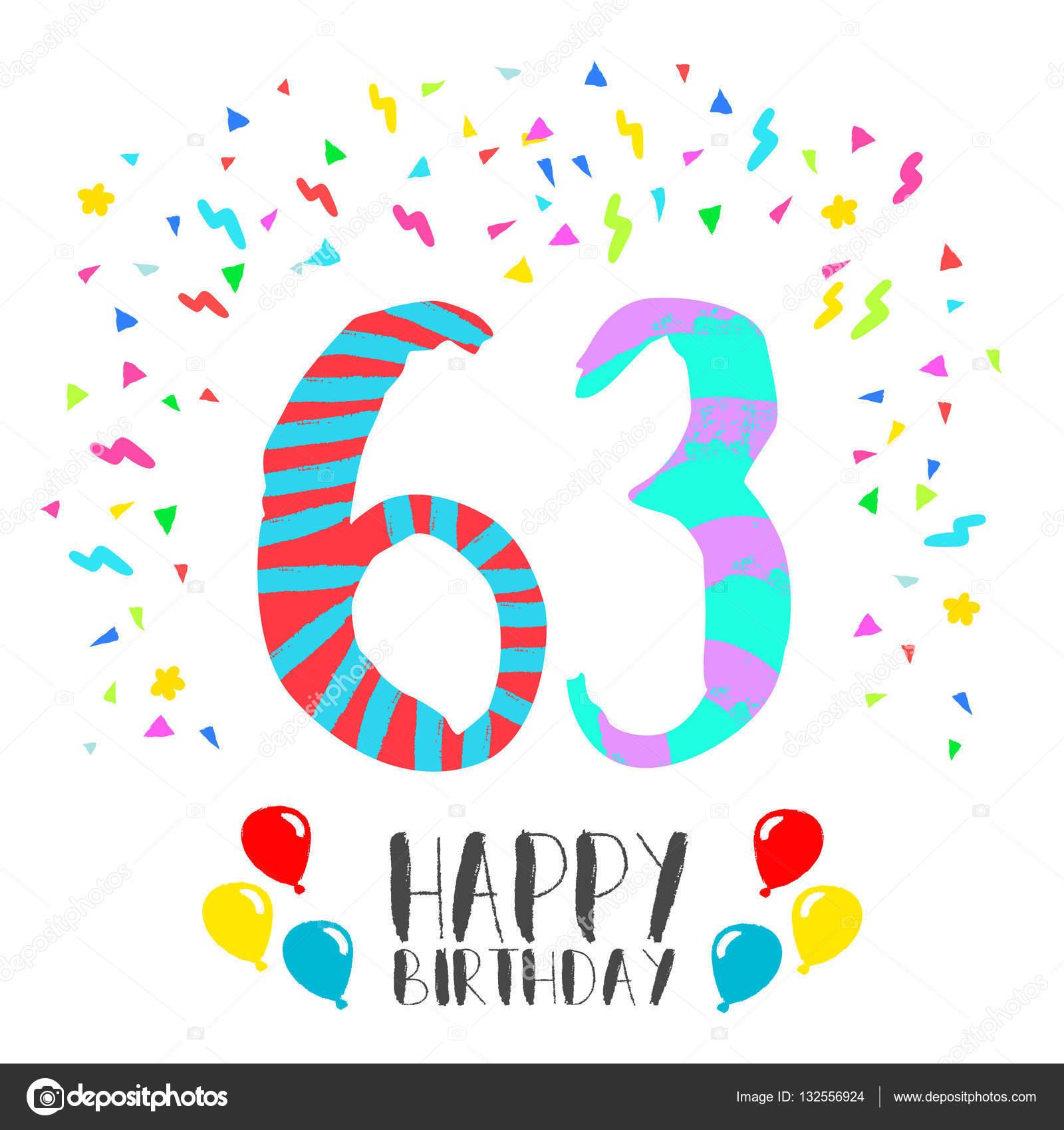 Поздравления с днём рождения мужчине 63 года