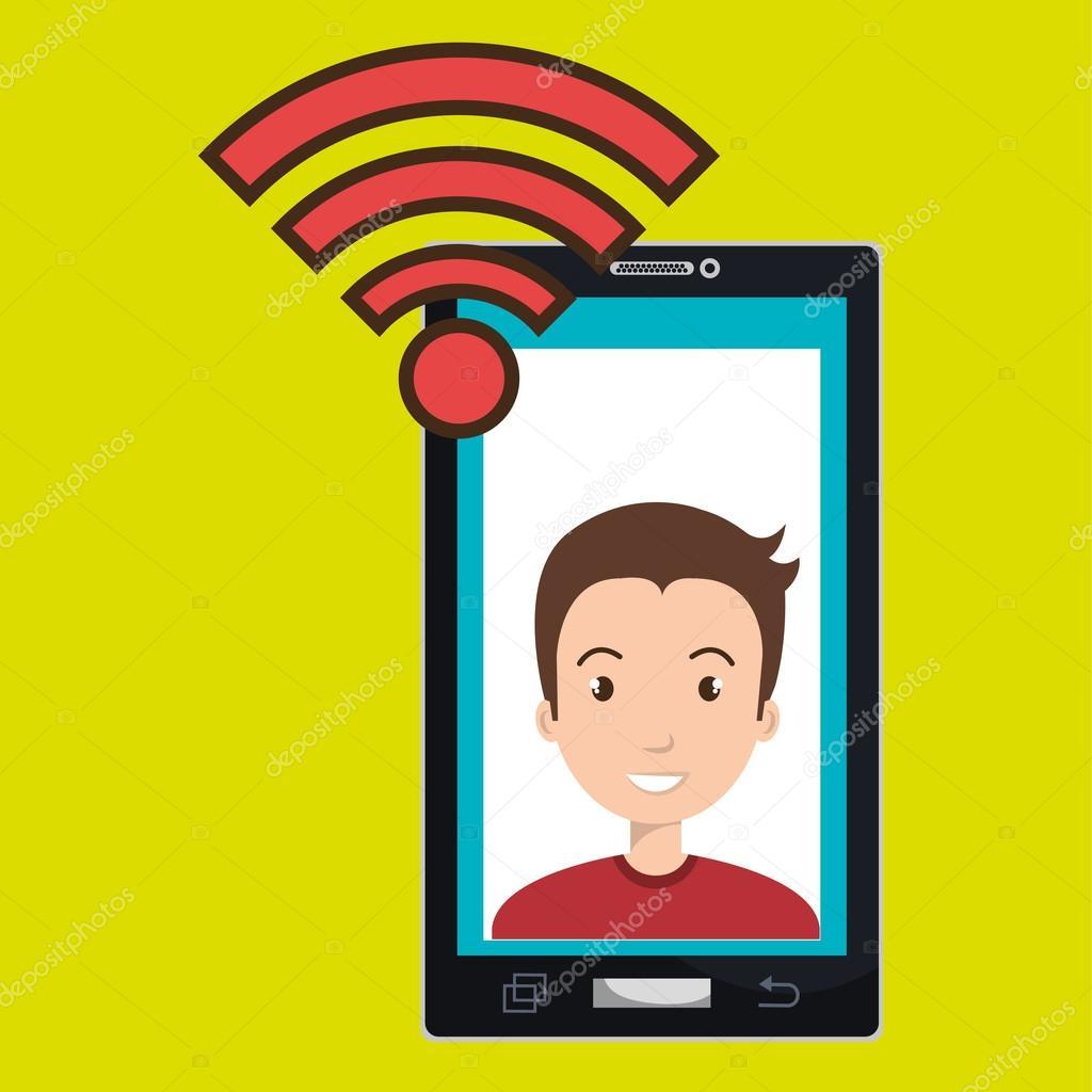 智能手机 wifi 上网人在线