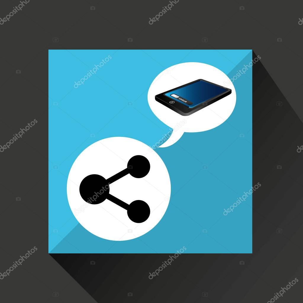 智能手机蓝色屏幕解锁分享