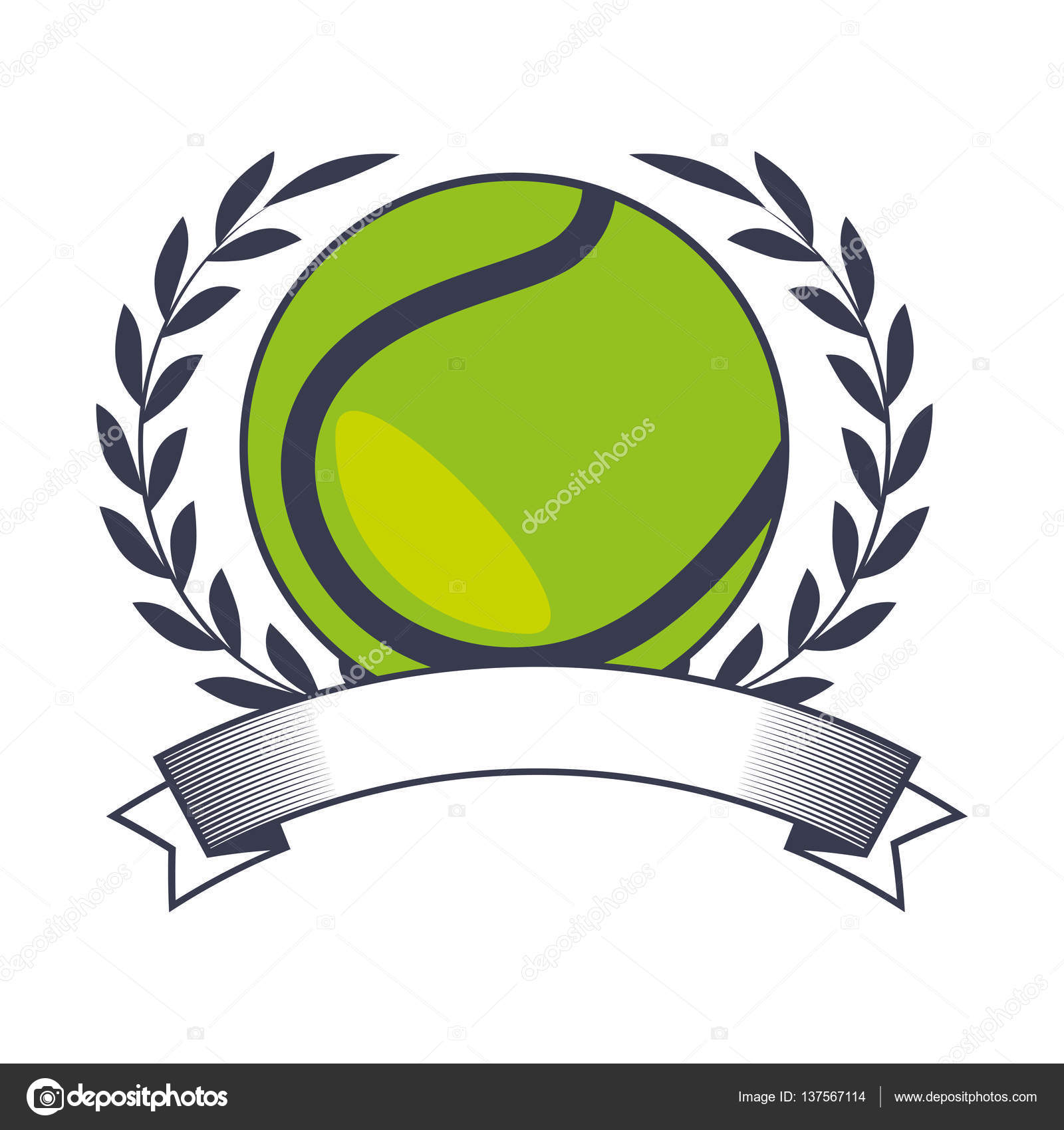 Tenis pelota stock de ilustracion ilustracion libre de stock de - Icono De Deporte De Pelota De Tenis Vector De Stock 137567114
