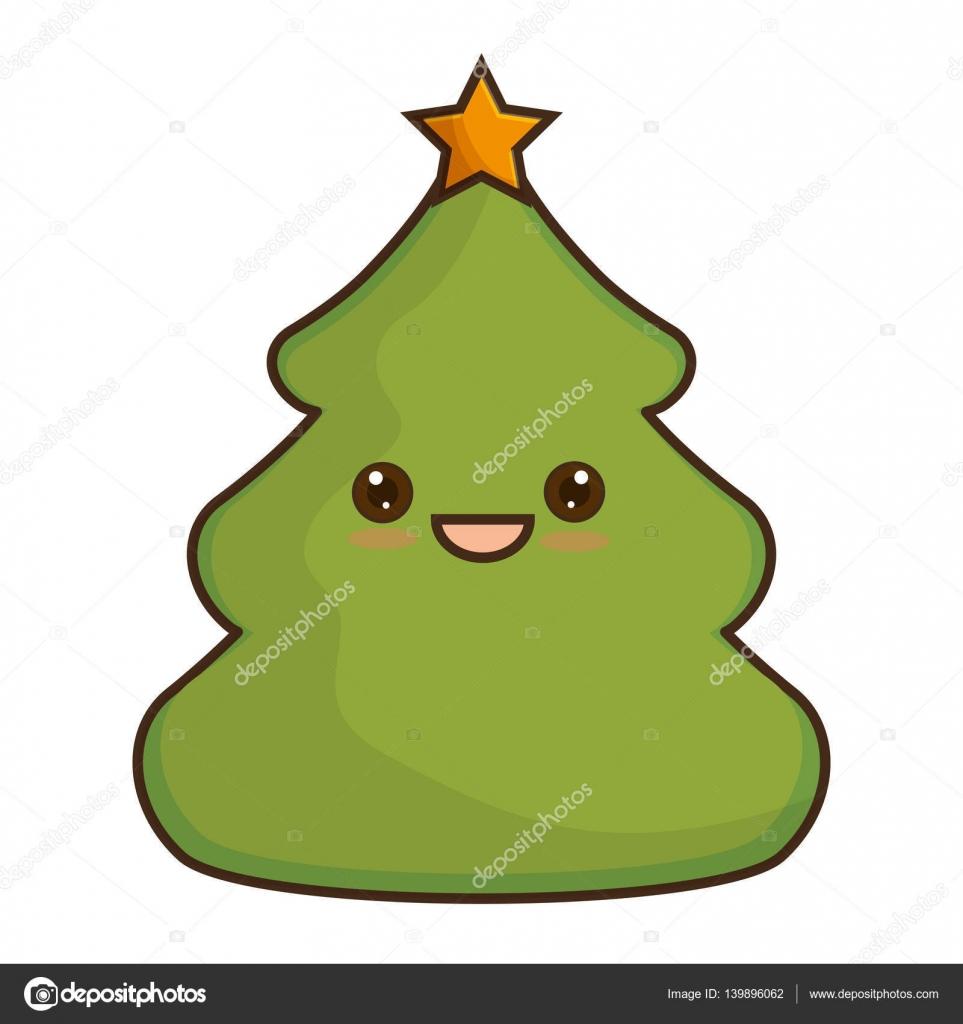 Immagini Natalizie Kawaii.Disegno Albero Di Natale Stilizzato Awesome Alberipigne Alberi Di