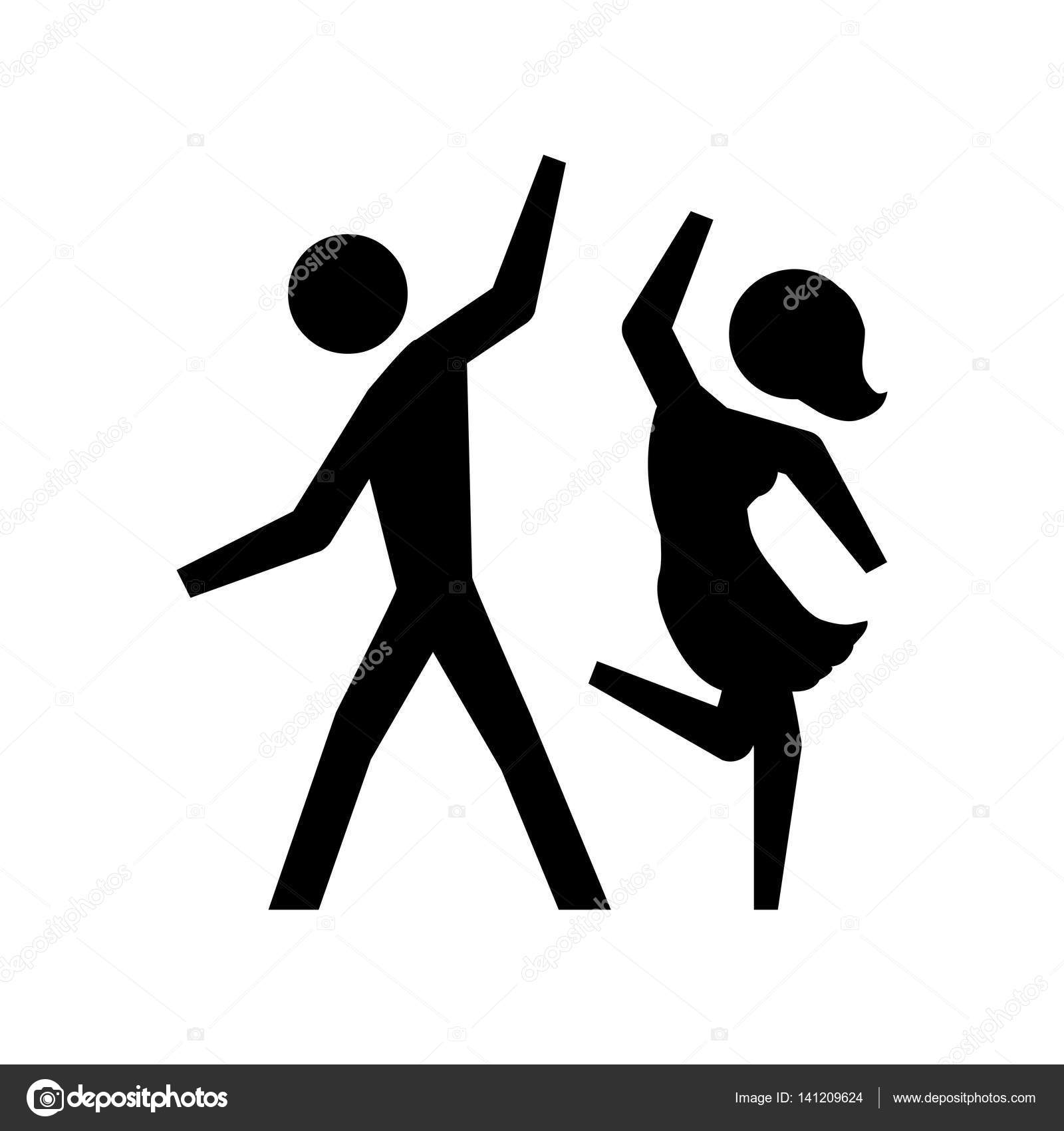 Symbol Tanzen