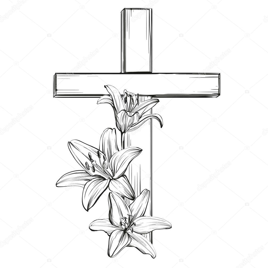 Coloring Pages Of Crosses - Treasurer\'s Report | Church Word Art