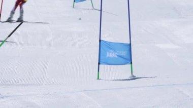 Athlete during the Ski National Championships