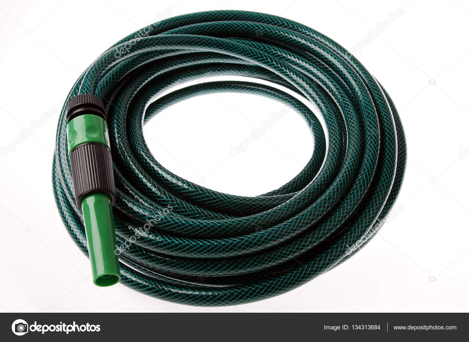 Coiled garden hose Stock Photo stillfx 134313684