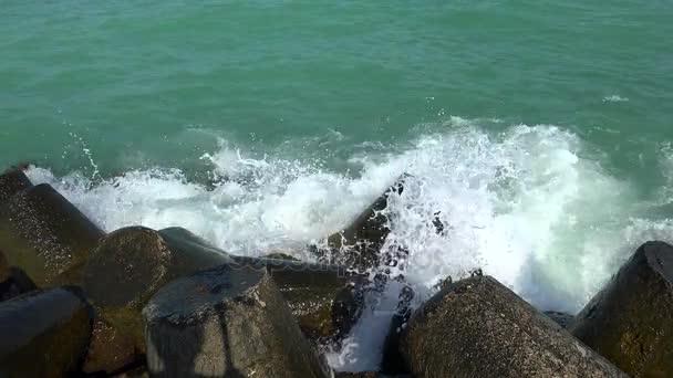 海,海浪,岩石.4 k