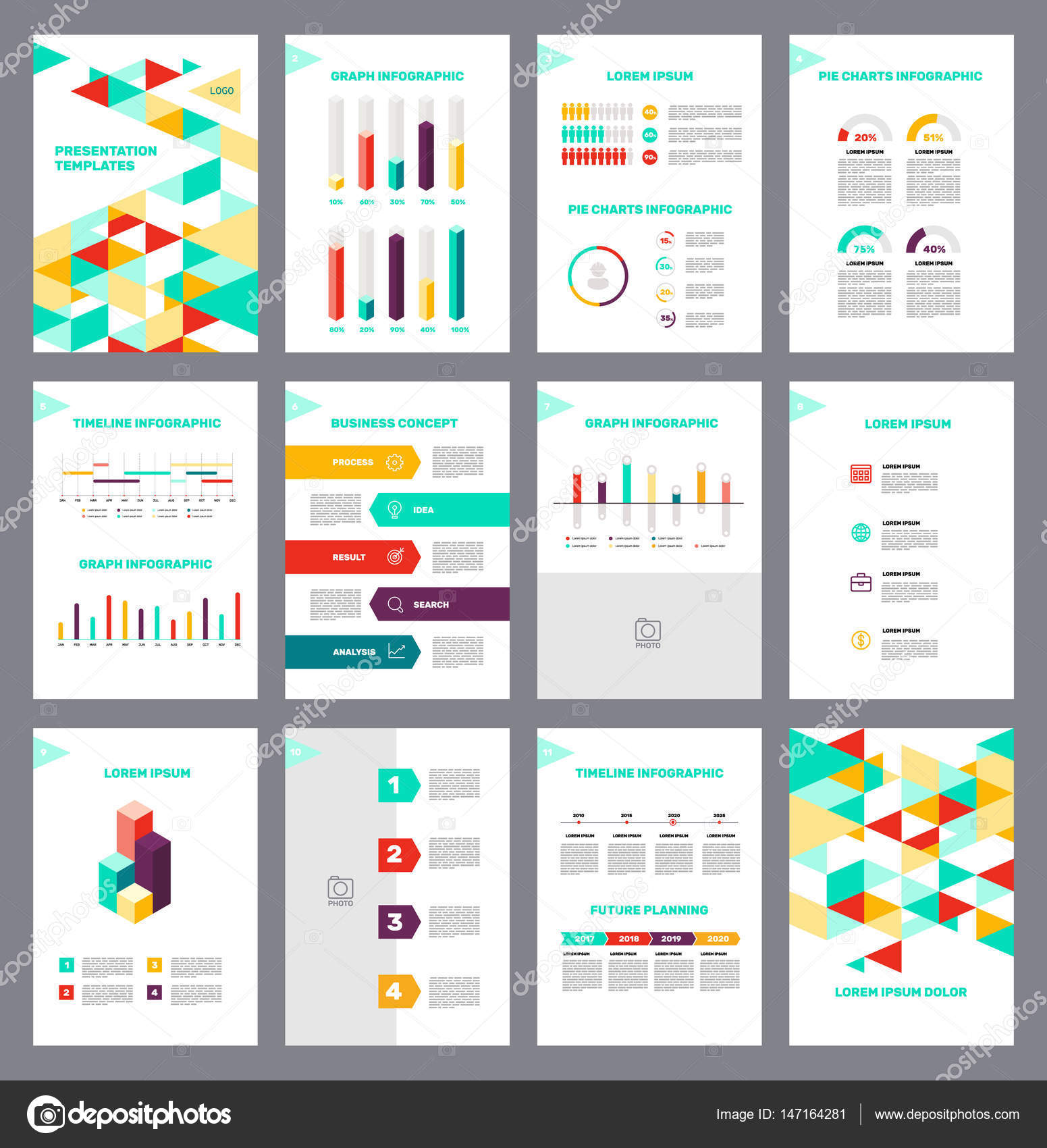 Infographic layout template