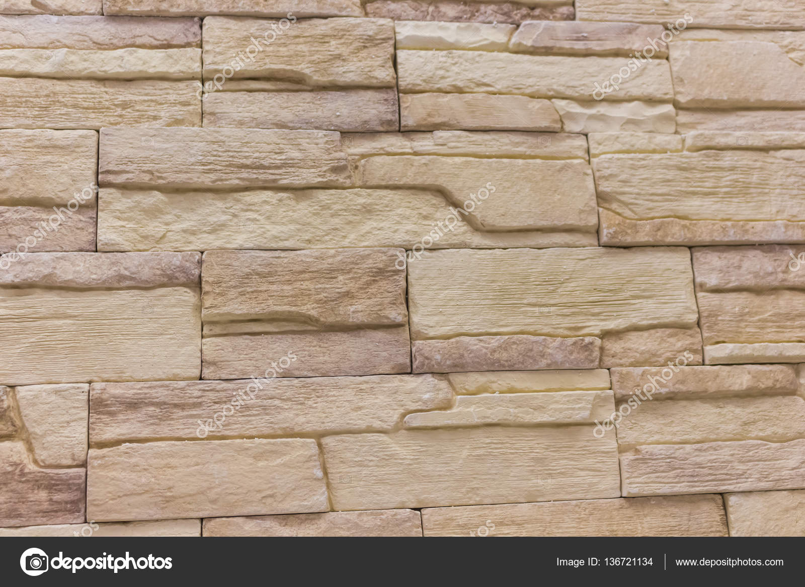 Baksteen achtergrond abstract textureweathered textuur van gebeitst oude licht bruin stucwerk en - Kleur muur volwassene kamer ...