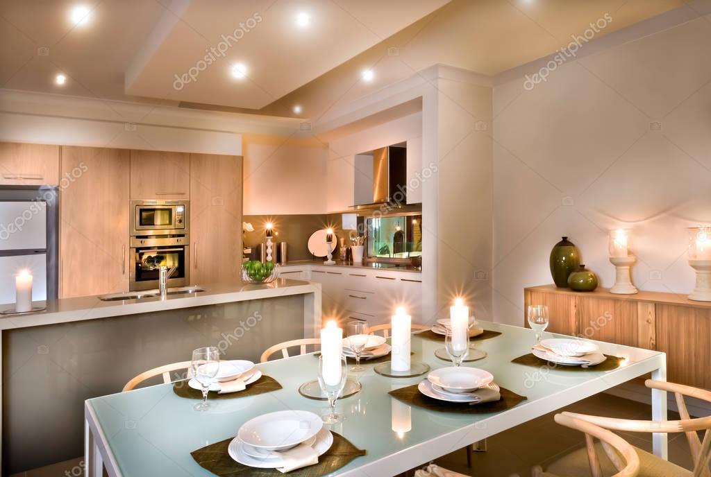 Cucine e soggiorno insieme