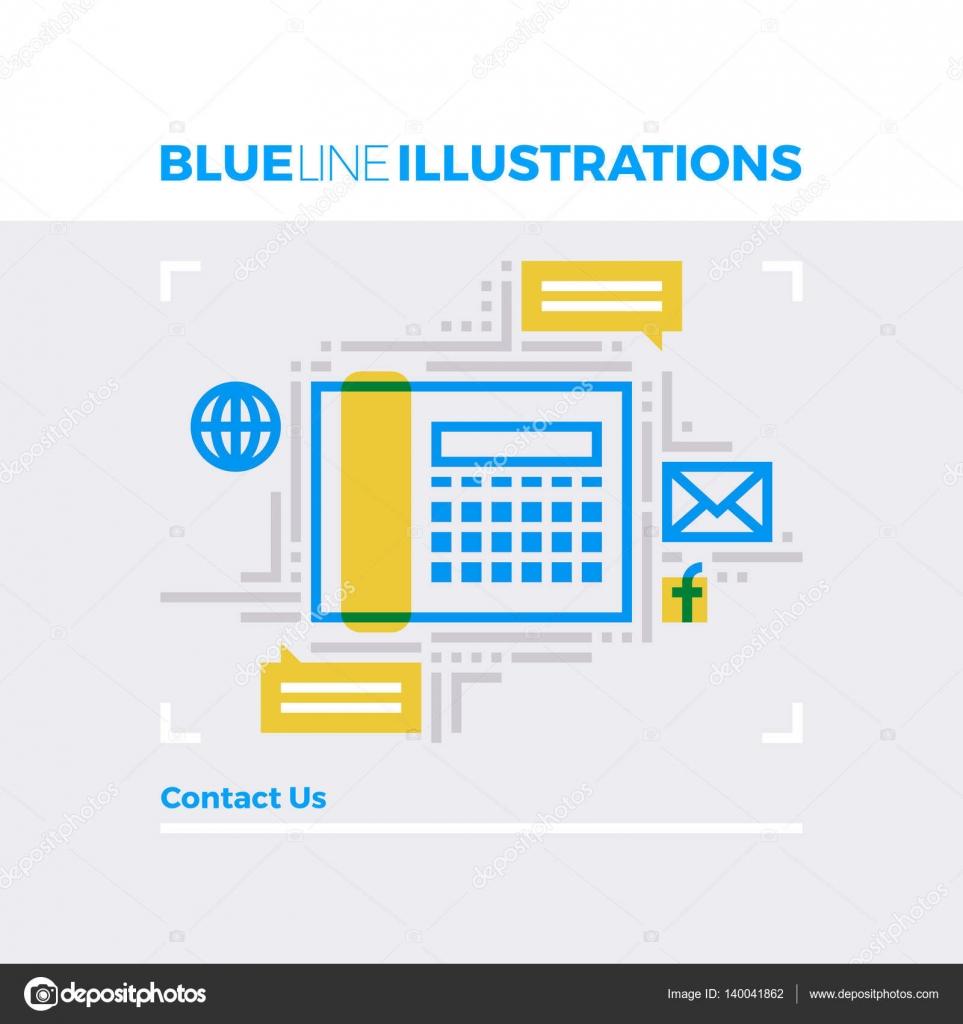 Contacto linea azul