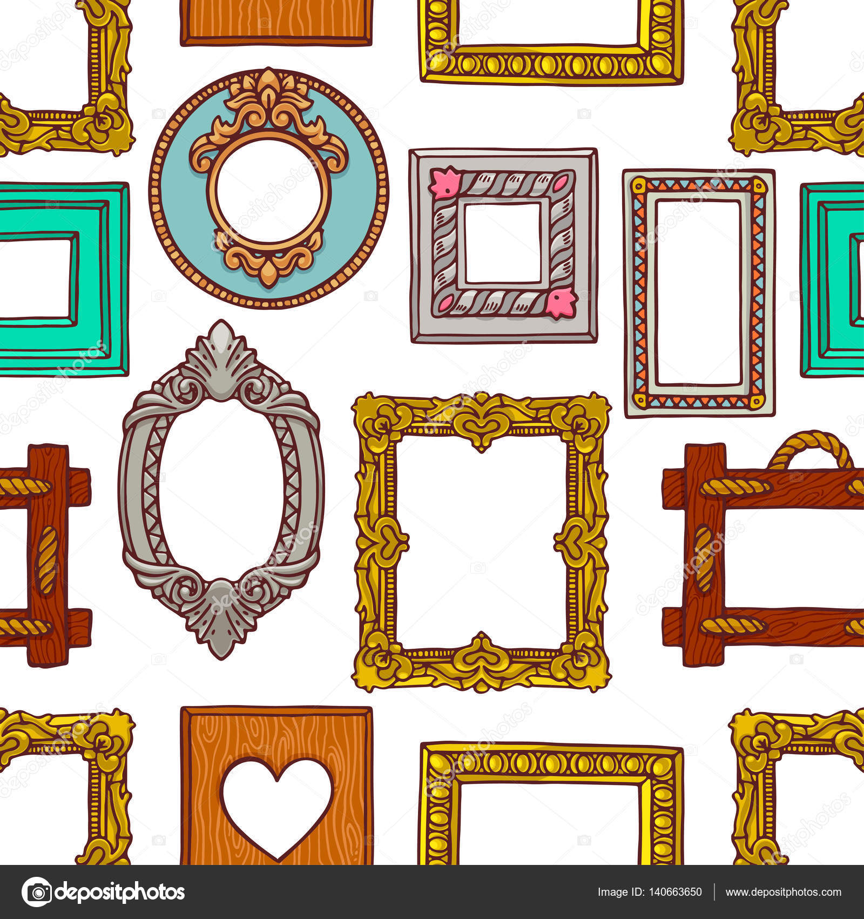 Marcos diferentes colores transparentes vector de stock 140663650 depositphotos - Marcos transparentes ...