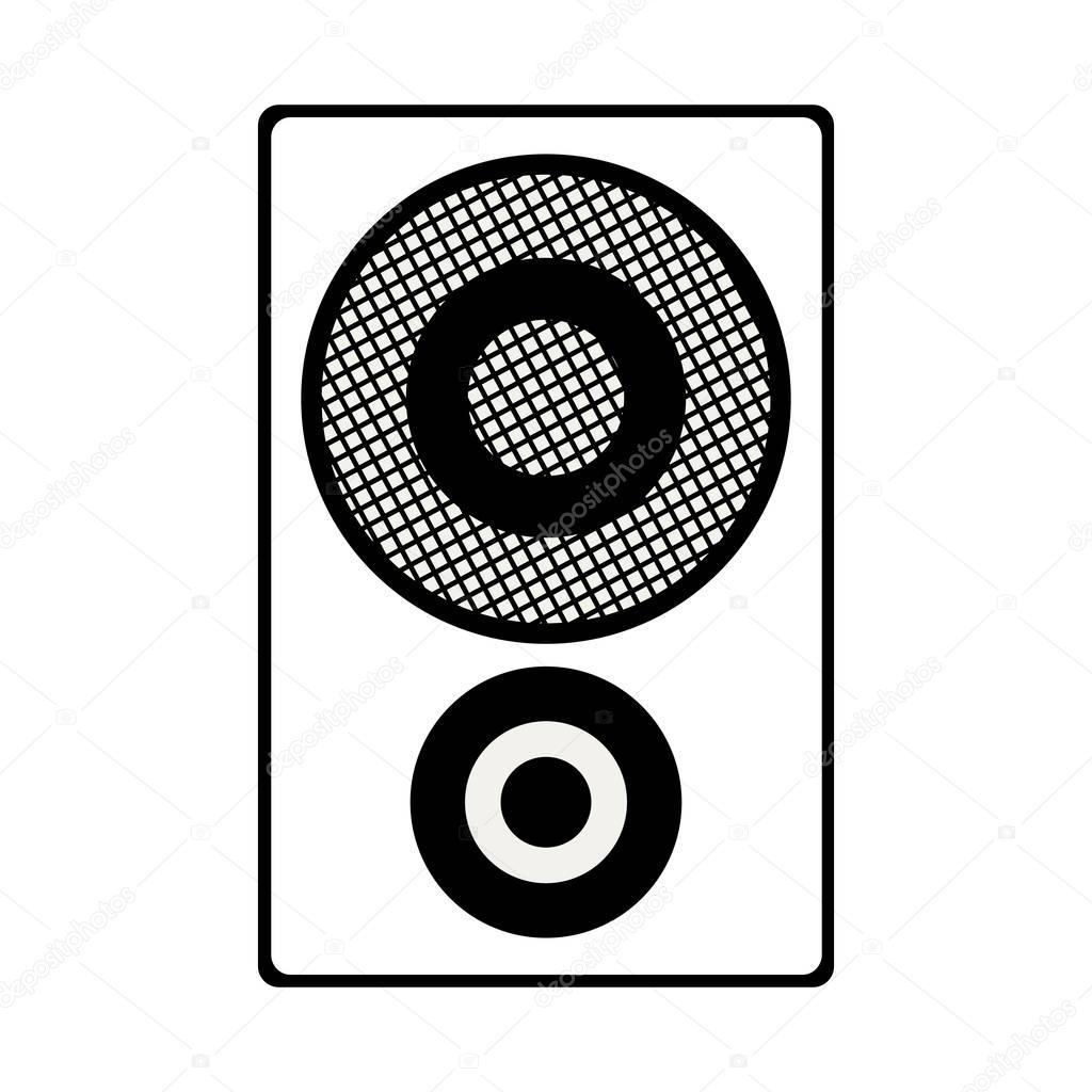 Speaker box icon — S...