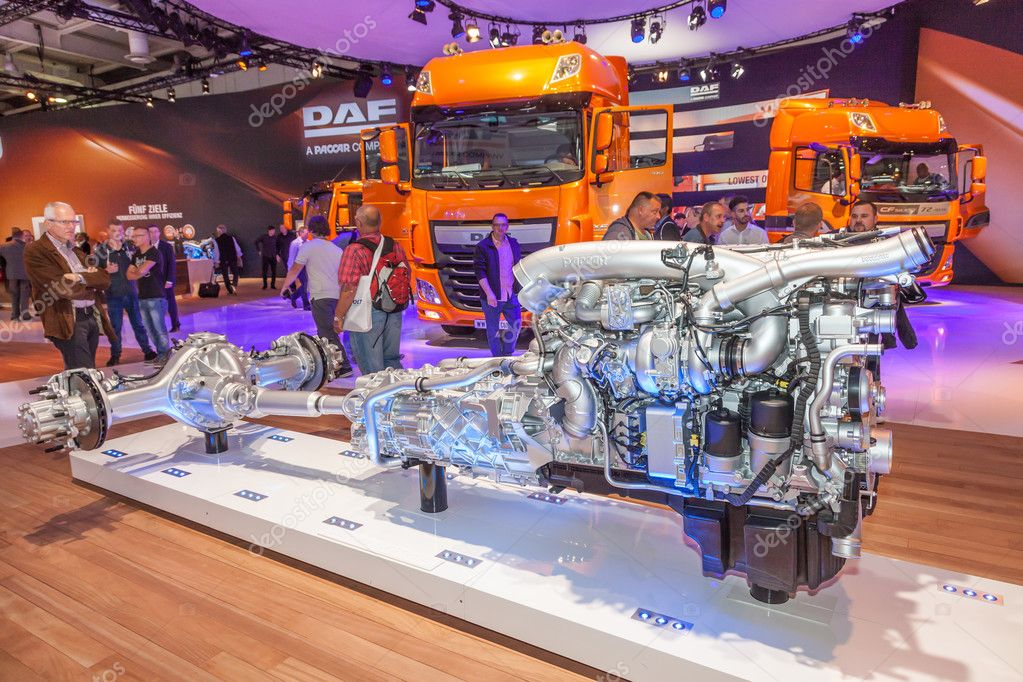 Paccar DAF truck transmission – Stock Editorial Photo © philipus ...