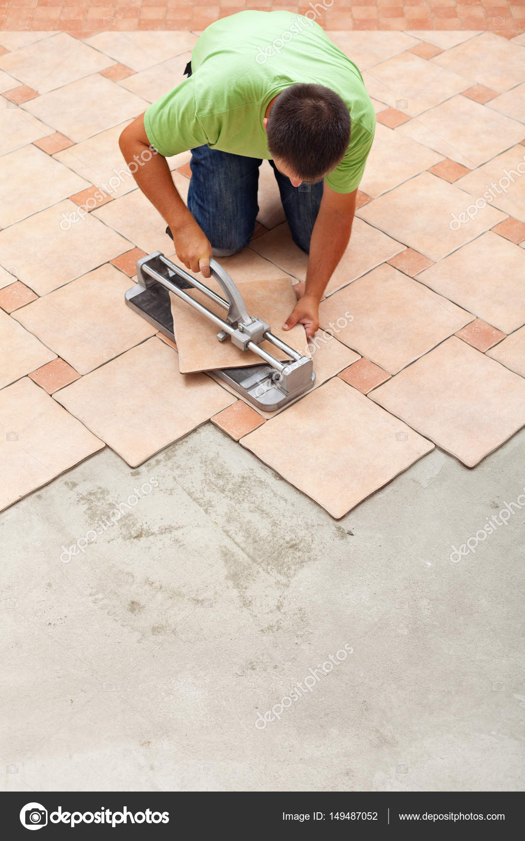 How to ceramic tile floor