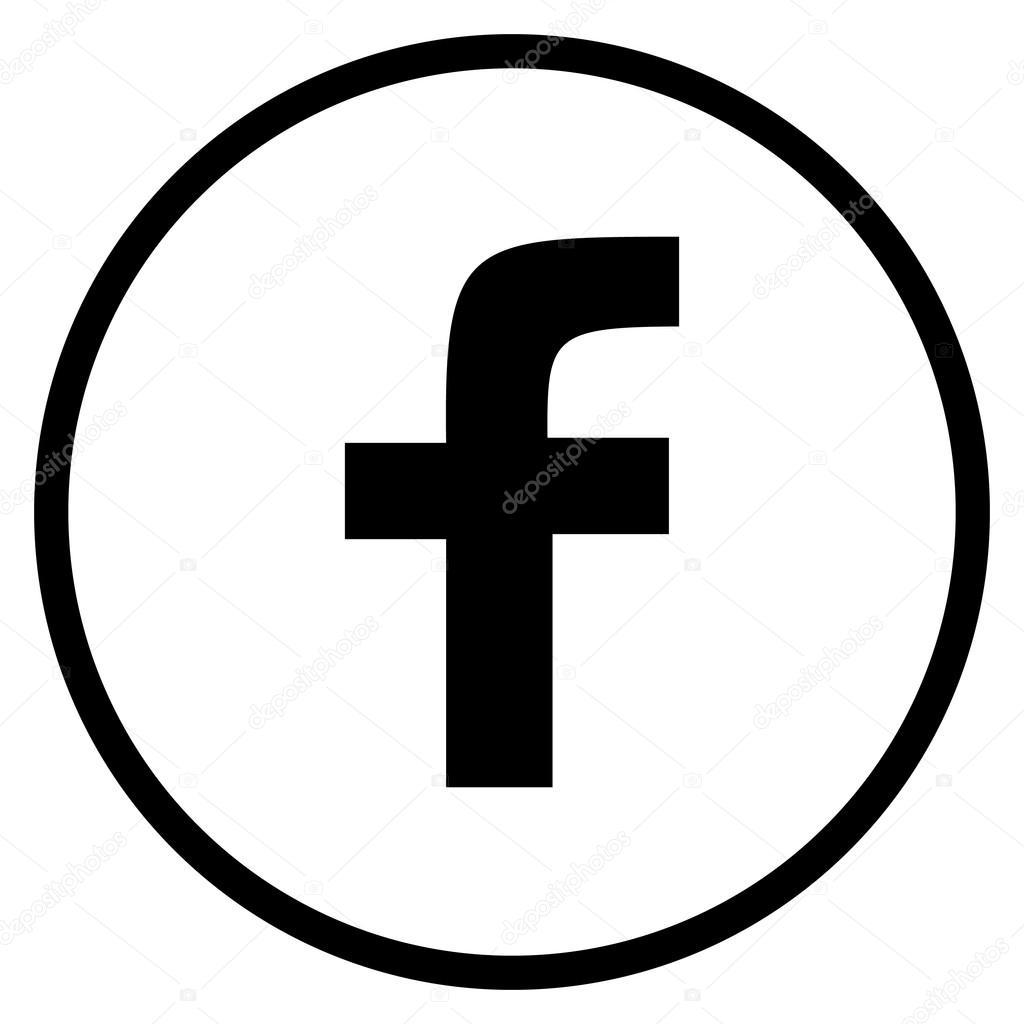 black facebook symbol wwwpixsharkcom images