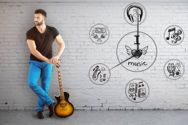 Music time concept
