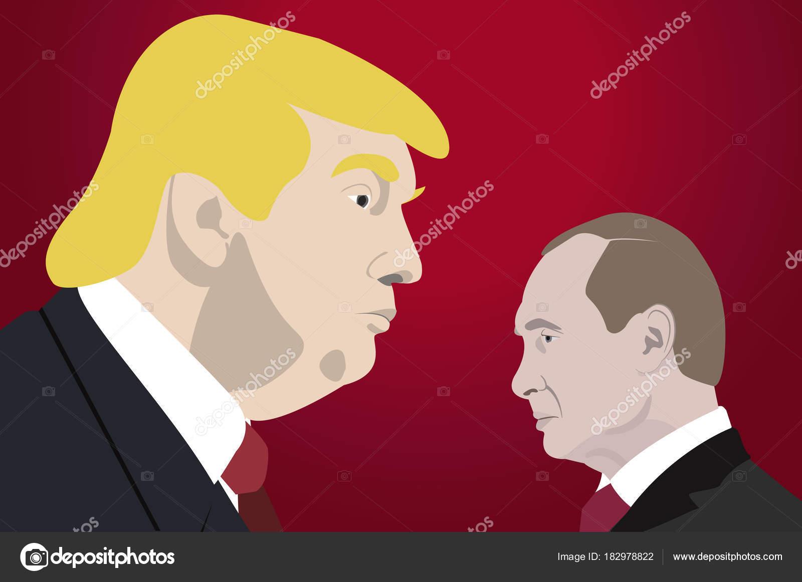 ドナルドトランプ イラスト