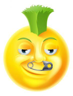 Punk Emoji Emoticon
