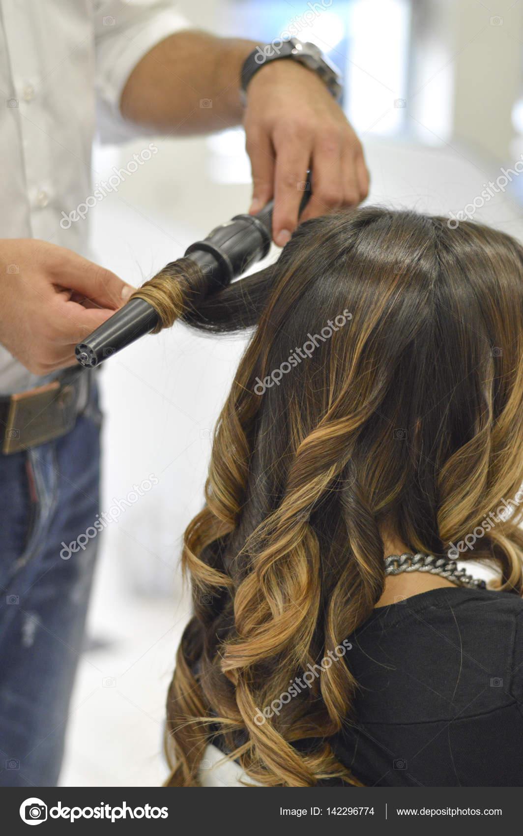 Как сделать кудри как в парикмахерской