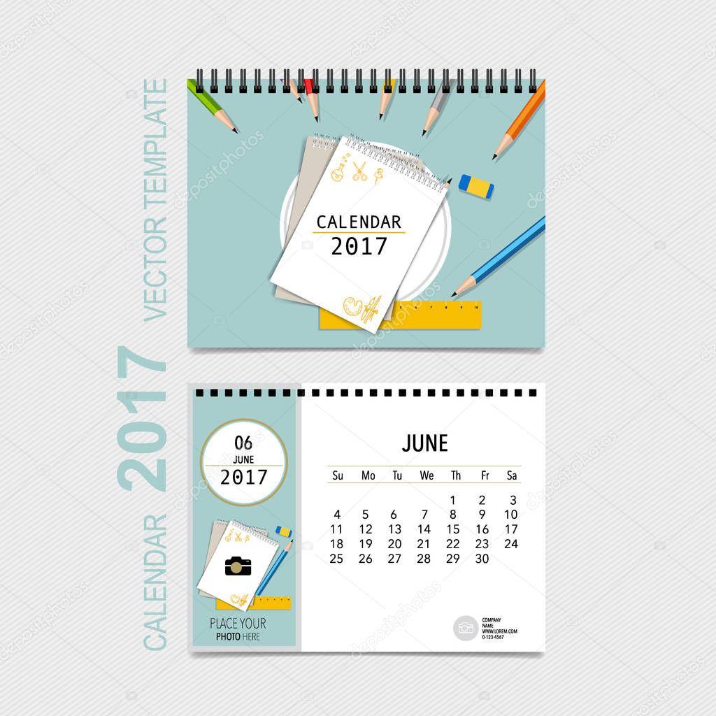 Календарь 2017 со своим