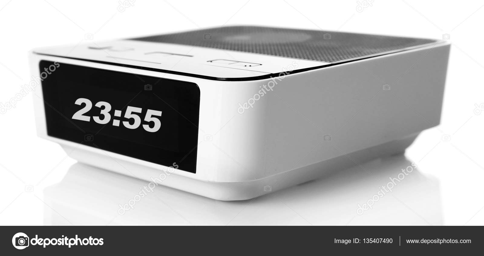 modern digital clock — stock photo © belchonock  - modern digital clock — stock photo