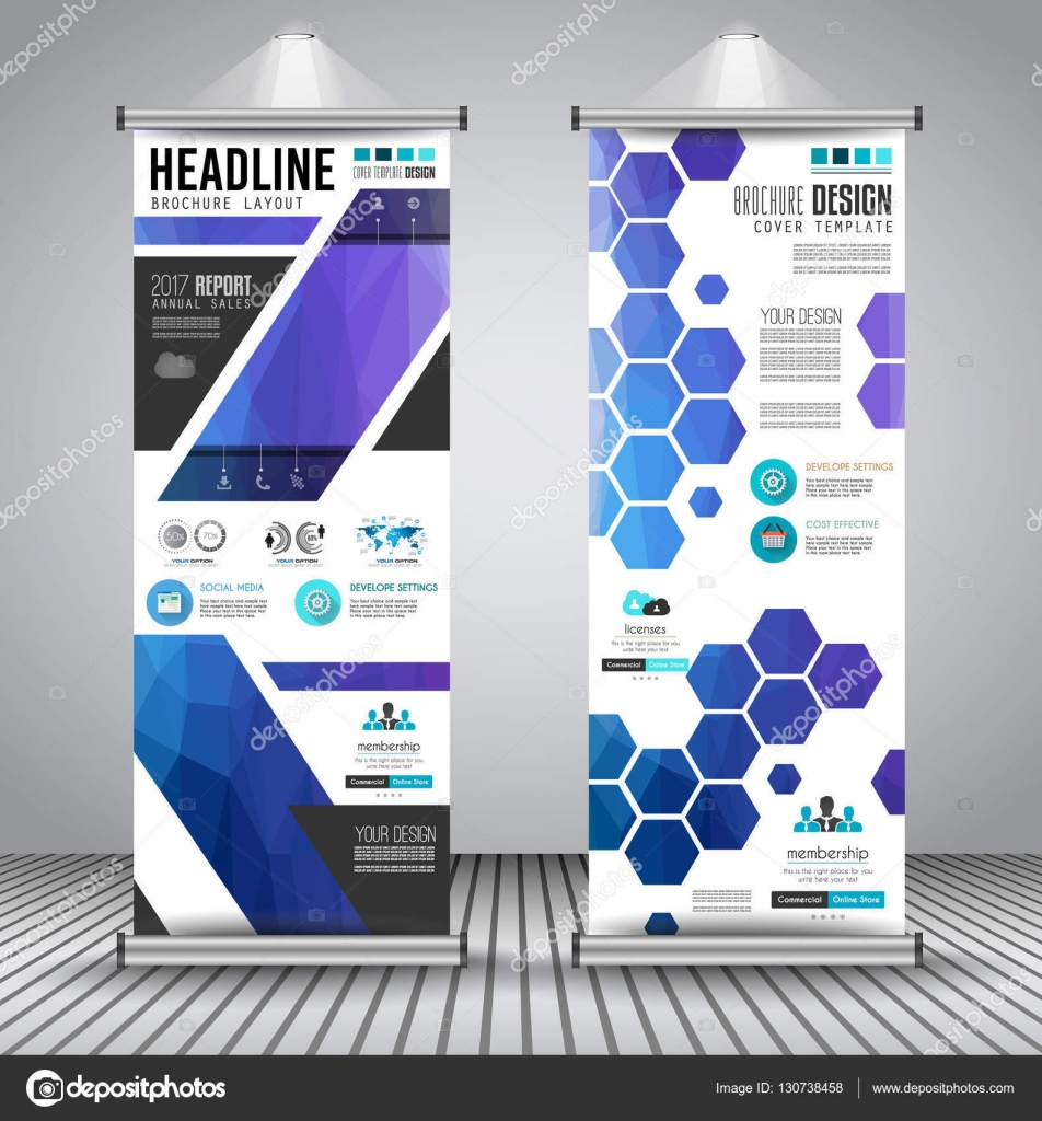 advertisement roll up business flyers stock vector copy davidarts advertisement roll up business flyers or brochure banners vertical design vector template for cover presentation geometrical shape background