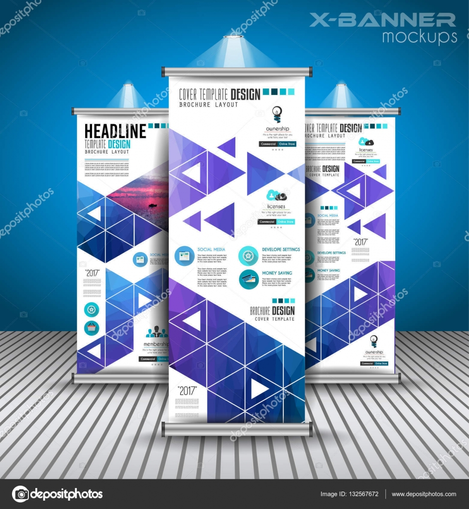 advertisement roll up business flyers stock vector © davidarts advertisement roll up business flyers stock illustration