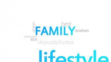Family, Typography Animation