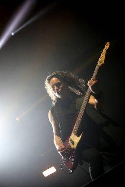 Padua Padova, PD, Italy - March 29, 2017: Franco Li Causi bass p