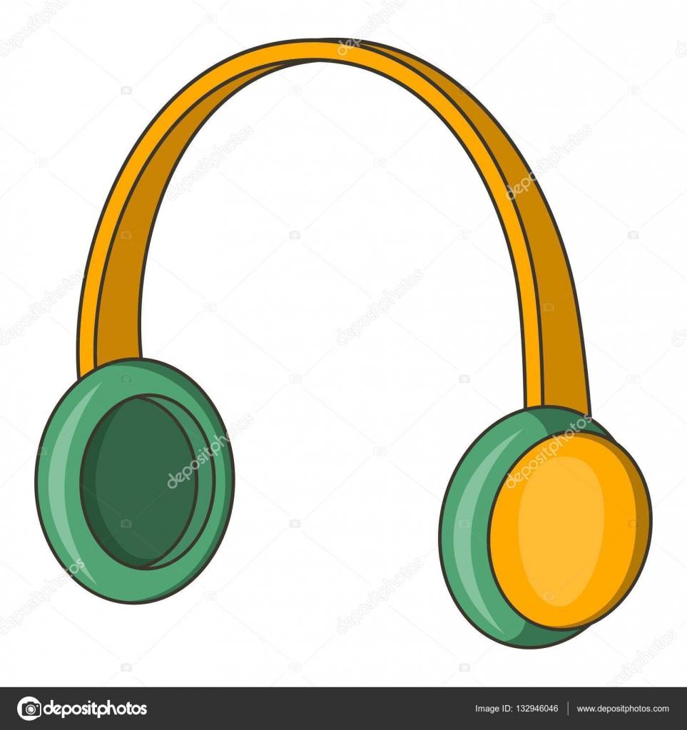 Icono de auriculares protectores estilo de dibujos for Protectores animados