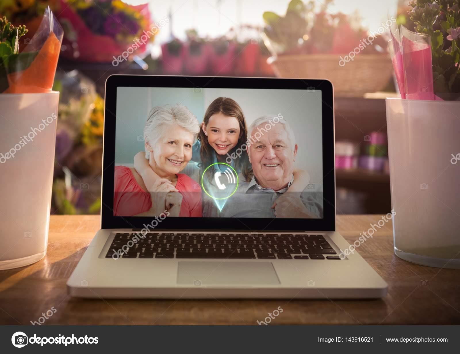 бабушка дедушка внучка видео
