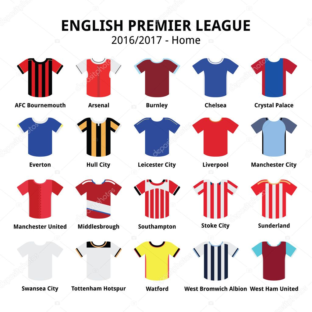 English Premier League 2016