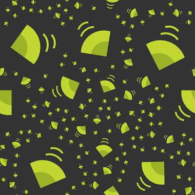 Loudspeaker seamless pattern