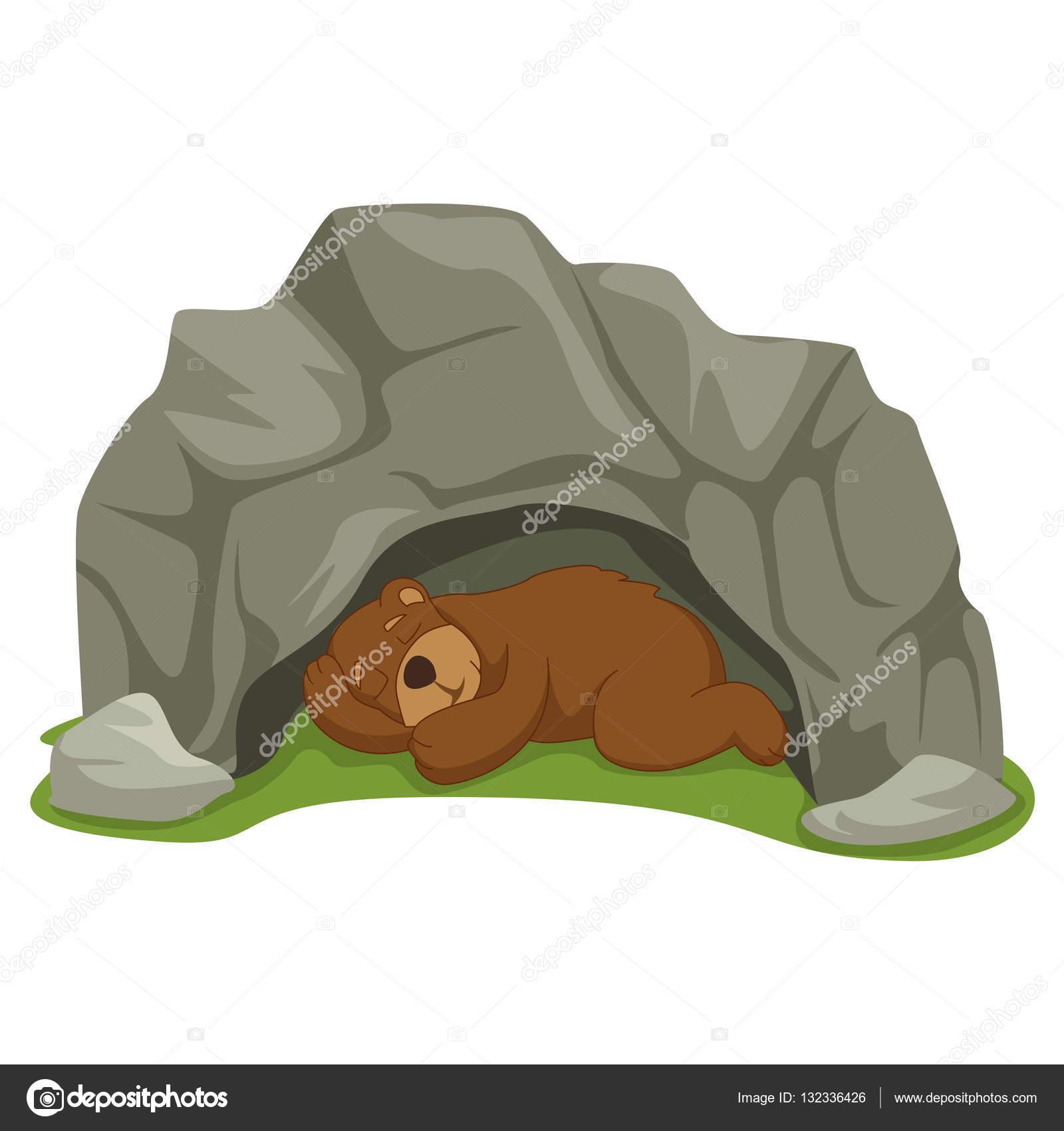 vector ilustraci u00f3n de dibujos animados dormir oso en la cute bear clip art with birds cute bear clipart images in black and white