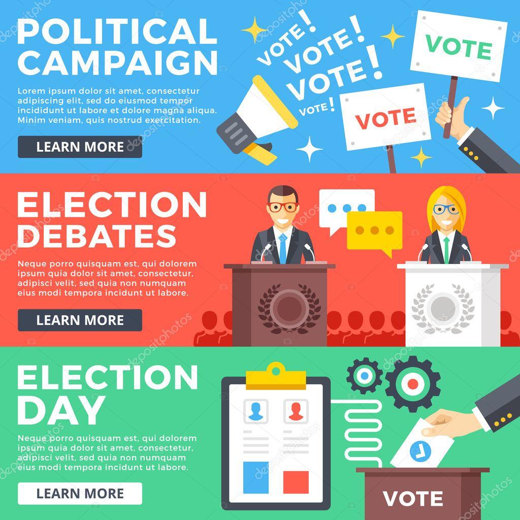 Election Campaign Graphic Design