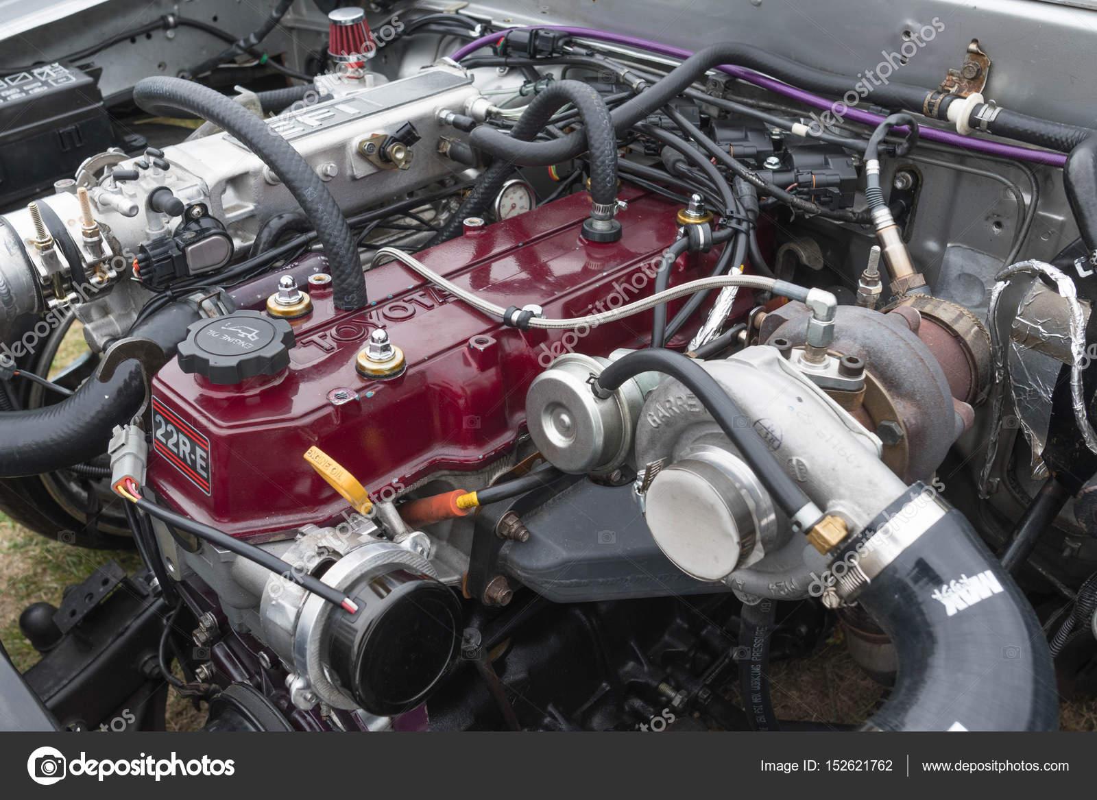 丰田汽车发动机 1991年展出