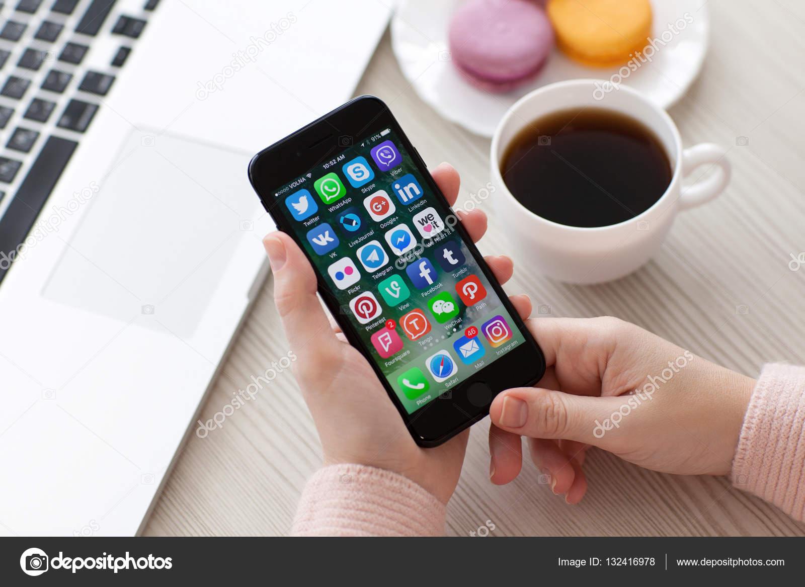 Мобильные программы социальные сети