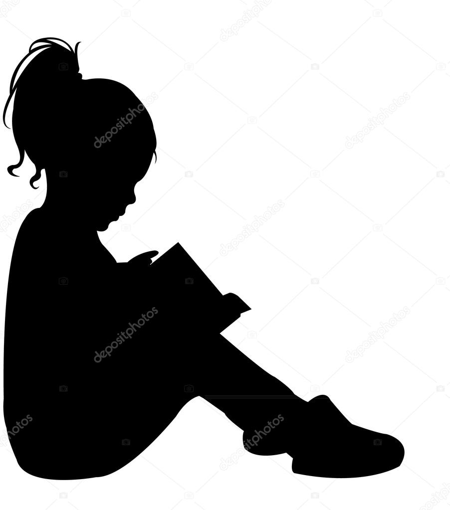 father and child reading a book silhouette vector my site daot tk children reading clipart black and white children reading clipart and graphics