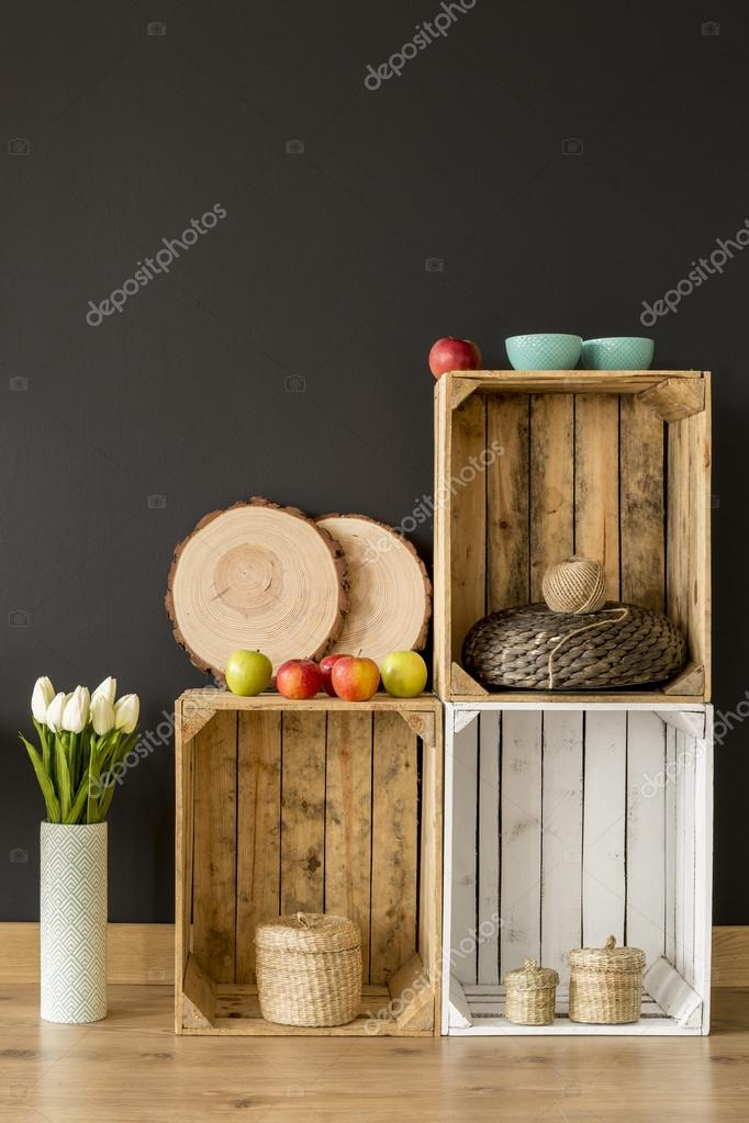 idea muebles ecolgicos de madera diy u fotos de stock
