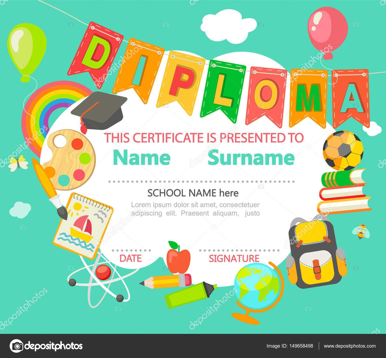 kids certificate template | datariouruguay