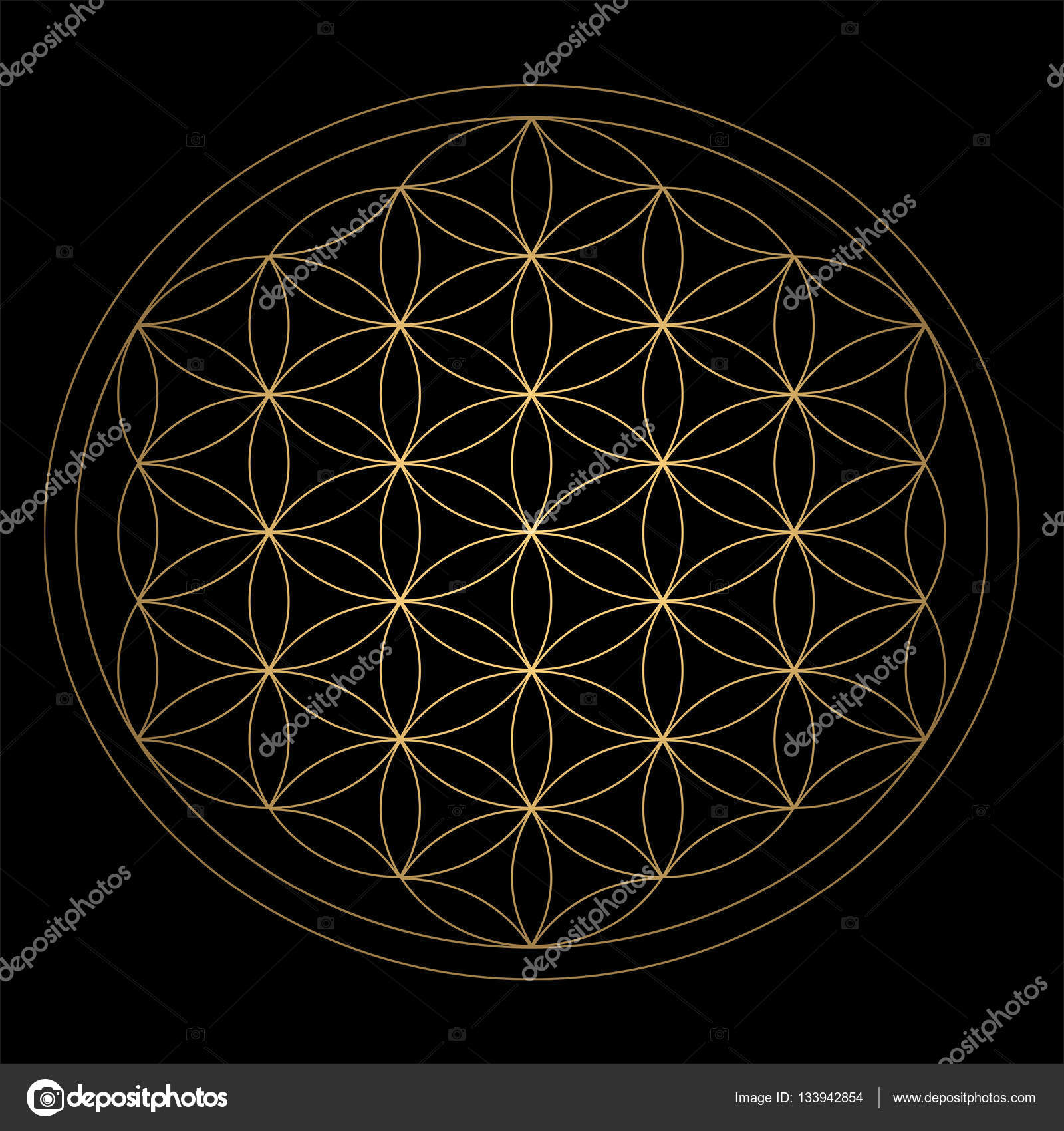 diagram by Athanasius Kircher, a 17th century German ...  |Ancient Sacred Geometry