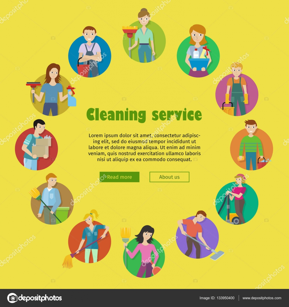 cleaning service icon set stock vector © robuart 133950400 cleaning service icon set stock illustration