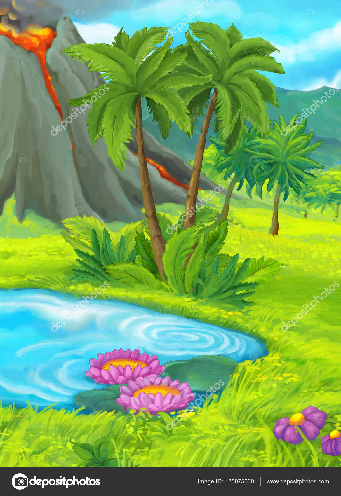 Jungle Scenery, Plant, Trees, Landscape PNG and ... - For Free