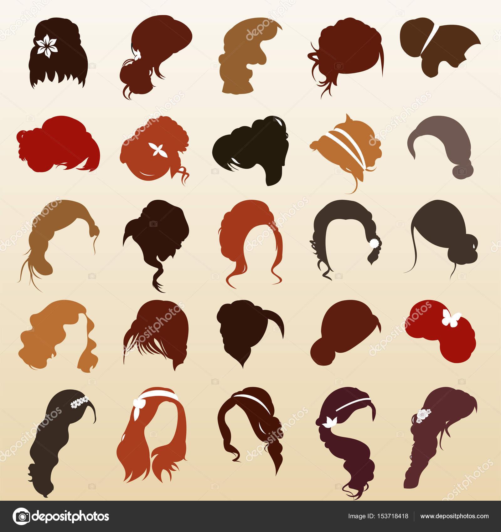 髪型 テンプレート