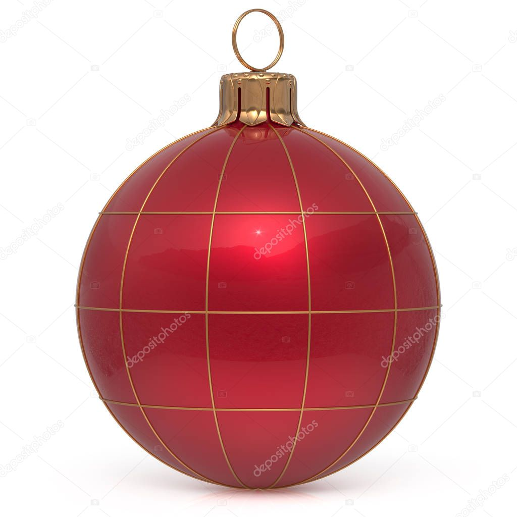 World globe christmas ornaments - Christmas Ball New Year S Eve Decoration World Globe Earth Planet Bauble Red Shiny International Wintertime Hanging Adornment Global Universe Ornament