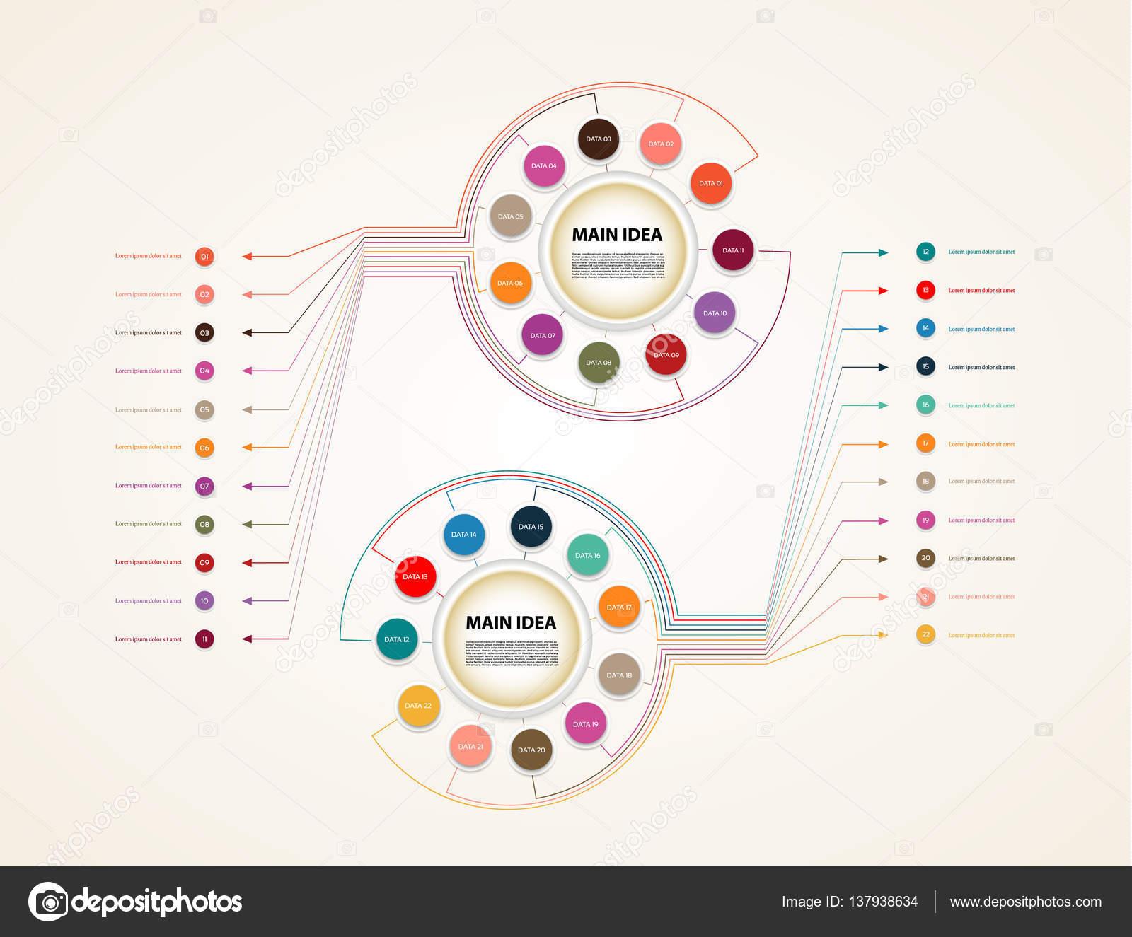 Шаблоны презентаций с диаграммами