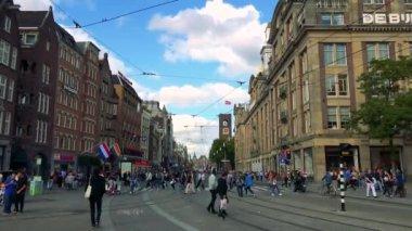 People crossing road in street
