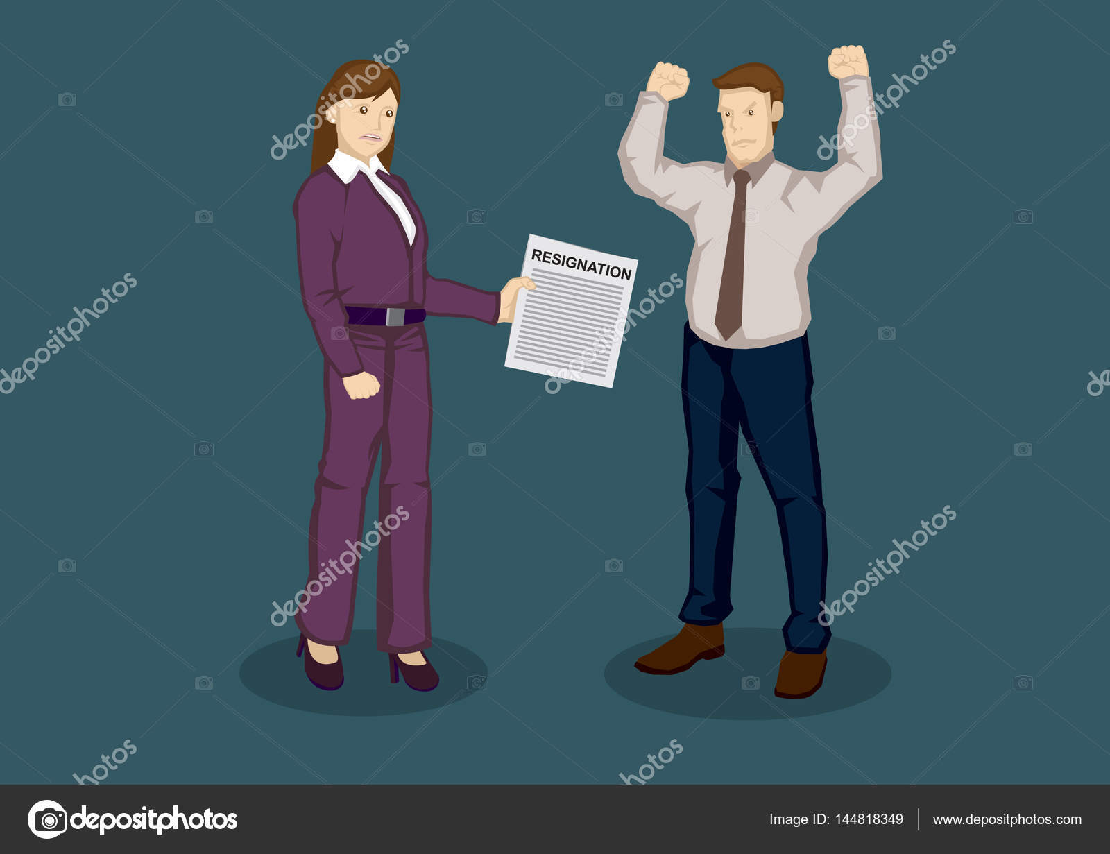 tender letter of resignation cartoon vector illustration stock tender letter of resignation cartoon vector illustration stock vector 144818349