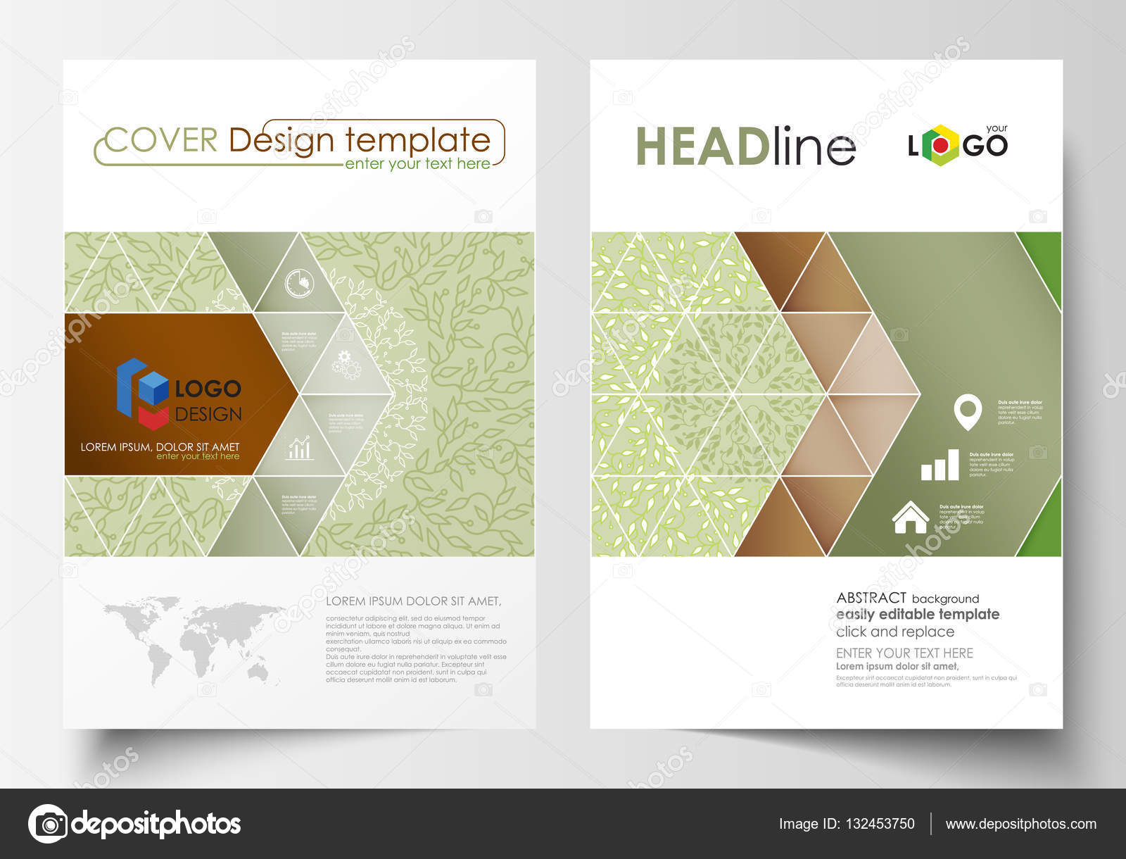 business templates brochure flyer annual report cover design business templates for brochure magazine flyer booklet or annual report cover design template easy editable vector abstract flat layout in a4 size